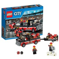 harga LEGO City 60084 -Racing Bike Transporter Motor Car Sport Truck Set Toy Tokopedia.com