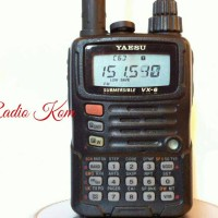 harga Radio Ht Handy Talky  Yaesu Vx 6r  All Band Waterfroop Tokopedia.com