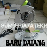 """Mesin Potong Aluminium Mini 7"""" Mitter Saw Hanya 750watt"""