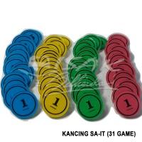 Kancing Sa-it - 31 Game - Plastik - Permainan 31 Billiard Biliar