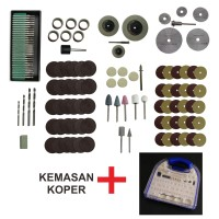 MATA Paket Mini Die Grinder Tuner / Gerinda Bor Mini Set Komplit + Koper