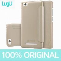 harga Flipcase Xiaomi Mi4i / Mi4c Nillkin Sparkle Leather Case - Golden Tokopedia.com