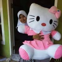 boneka hello kitty/hk/hello kity/helo kity super jumbo/big/besar/gede