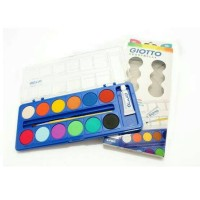 GIOTTO WATER COLOUR CAKE 12 COLOURS