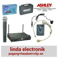 harga MIC ASHLEY SVX 555 PEGANG/CLIP ON/HEADSET Tokopedia.com