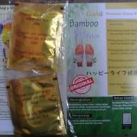 Jual Koyo Kaki Bamboo gold Foot Patch Detox Premium sepasang kiri kanan Murah