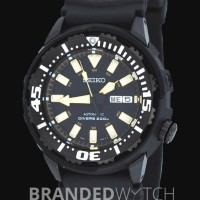 Seiko SRP231 Divers Automatic Black Gold