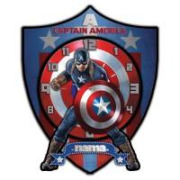 Jam Dinding Captain America Favorit Anak - CA.3