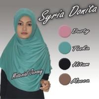 Jilbab / Hijab Instan Syria Donita Bahan Jersey