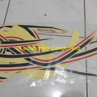 Striping Lis/lis Body/Stiker Motor Scoopy FI Crem/Krem