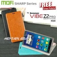 Flipcover Lenovo K920 Vibe Z2 Pro : Mofi Sharp Series ( + Free Sp)