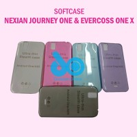 Softcase  ultrathin Nexian Journey 1 one / Evercoss One X