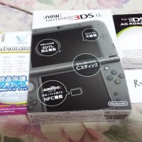NINTENDO NEW 3DS XL / LL BLACK *BRAND NEW BARU NEW3DS N3DS
