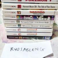 3DS - ZELDA, MH4, PERSONA Q, PAPER MARIO, HARVEST MOON, COOKING MAMA
