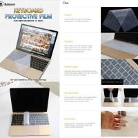 Baseus Keyboard Protective Film New Macbook Air 12-New Macbook Pro 12