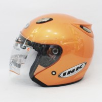 harga Helm basic INK Centro - Orange - bukan KYT, BOGO, AGV, SNAIL, CROSS Tokopedia.com
