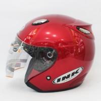 harga Helm basic INK Centro - Maroon - bukan KYT, BOGO, AGV, SNAIL, CROSS Tokopedia.com