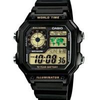 harga Jam Tangan Casio Ae-1200wh-1b Original & Bergaransi Tokopedia.com