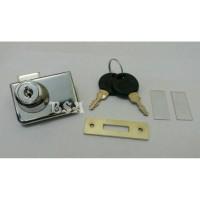 harga Kunci pintu lemari kaca etalase jepit double FD01 Tokopedia.com