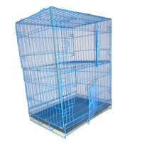 harga Kandang Kucing Tingkat HP1 Biru Tokopedia.com