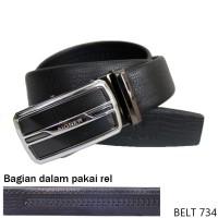 Belts Mens Fashion Semi Kulit Hitam BELT 734