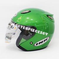 harga Helm Ink Centro Jet Green Kawasaki [original Product] Tokopedia.com