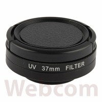 UV Filter Lens 37mm + Cap For Gopro Hero3 + / Hero3 Filter Sinar UV