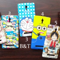Softcase Character Oppo Find 7/7a