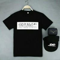 Jual Tumblr Tee / T-Shirt / Kaos EXO PLANET #2 The EXO luXion Murah