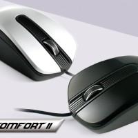 "CLiPtec USB 800dpi Optical Mouse ""Scroll Comfort"" RZS967"