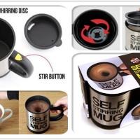 gelas otomatis mengaduk self stiring mug