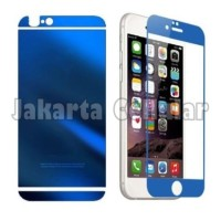 Anti Gores Tempered Glass Mirror 2in1 For iPhone 4/4s/4g (Front+Back)