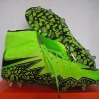 Sepatu Bola Nike Hypervenom Phantom II FG Green Lime Black Grade Ori