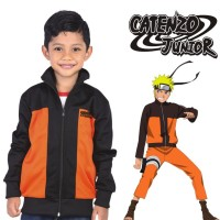 jaket anak laki-laki, hoodie anak cowok model kartun Naruto, CYI 145