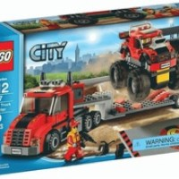 Toys LEGO City Monster Truck Transporter 60027