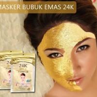 Masker Bubuk 24K / Mask Emas / Masker Wajah