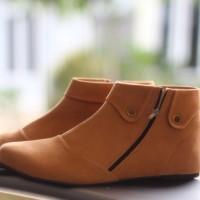 harga SBO90 Sepatu Boot Wanita / Boots Korea Cantik - Tan Tokopedia.com