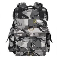 Tas Kamera DSLR National Geographic Army Model GRR Bisa untuk Tas Rans