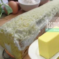 Double Cheese Roll cake/Jasmine Cake/Roll tart/Swiss Roll/Bolu Gulung