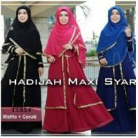 gamis kancing depan baju butik muslim terbaru , gamis model sekarang