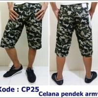 Celana Pendek Army | Celana Pendek Pria | Celana Pendek Kanvas | CP25