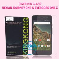 Tempered Glass Khusus Nexian Journey One dan Evercoss one x