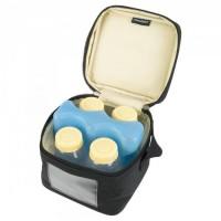 Medela Cooler Bag Isi 4 Botol Ukuran 150ml Dan Ice Pack