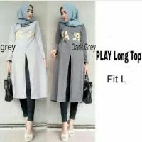Fashion Hijab - play long top