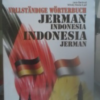 Kamus Bahasa Jerman Indonesia dan Indonesia Jerman