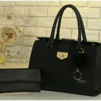 harga tas impor fashion korea branded 2in1 ck charles and keith mewah Tokopedia.com