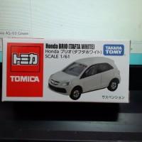 Diecast Honda Brio (TAFTA White) 1/61 Takara Tomy Tomica sudah SNI