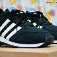 Sepatu Casual Adidas V Racer Nylon Black