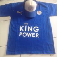 Topi dan Kaos Leicester City