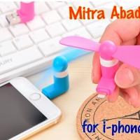 Kipas Angin Mini USB 2 in 1 for i-phone